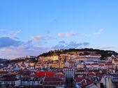 городской пейзаж лиссабона — Стоковое фото