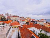 Alfama Skyline in Lisbon — Photo