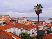 Alfama Skyline in Lisbon — Stock Photo