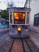 Bergbanan i Lissabon — Stockfoto