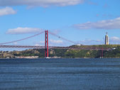 Tagus River in Lisbon — Stock Photo