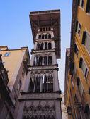Santa Justa Lift in Lisbon — Стоковое фото
