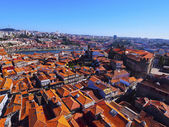 View from Clerigos Tower in Porto — Stock Photo