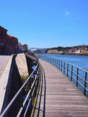 Douro River in Porto — Stock Photo