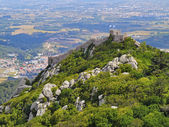 Moorish Castle in Sintra — Stock Photo