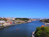 Douro River in Porto — Stock fotografie