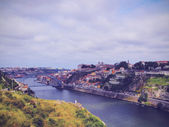 Douro River in Porto — Stock Photo
