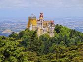 Pena National Palace and Park in Sintra — Stock Photo