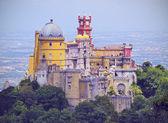 национальный дворец пена и парк в городе sintra — Стоковое фото