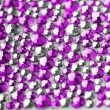 Royalty-Free Stock Photo: Pink and silver texture with crystals
