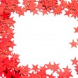 Many stars on white background - Stock fotografie