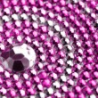 Pink and silver texture with crystals — Stock Photo #28609299