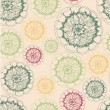 Abstract Elegance Seamless pattern with floral background — Imagen vectorial