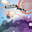 Abstract background for party — Vettoriali Stock