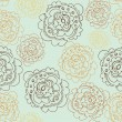 Abstract Elegance Seamless pattern with floral background — Vettoriali Stock