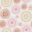 Abstract Elegance Seamless pattern with floral background — Stok Vektör