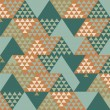 Abstract Retro Geometric Background. Vector Illustration — Grafika wektorowa