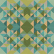 Abstract Retro Geometric Background. Vector Illustration — 图库矢量图片