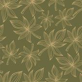 Nahtlose Muster mit farbigen Herbst Blätter. Eps 10 Vektor zurück — Stockvektor