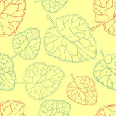 Seamless floral retro pattern for wallpaper — Vettoriale Stock