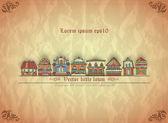 Little town. — Wektor stockowy