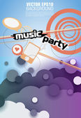 Abstract background for party — Stock Vector