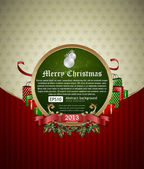 Christmas Banner. — Vector de stock