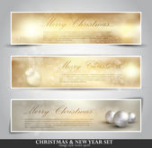 Elegant Christmas background — Vector de stock