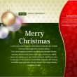Christmas background vector — Image vectorielle