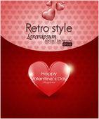 Valentine's day background — 图库矢量图片