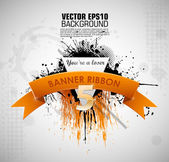 Grunge banner you're a loser — Vector de stock