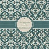 Seamless wallpaper pattern — Stock Vector