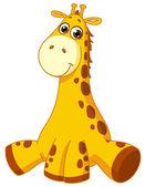Baby giraffe — Stock Vector