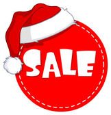 Marca de venda de Natal — Vetor de Stock