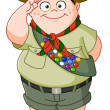 Boy scout - Stock Vector