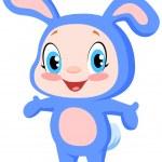 Baby bunny — Stock Vector #2566437