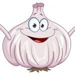Garlic cartoon — Stock Vector #30541067
