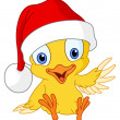 Christmas chick — Stock Vector #4112348