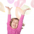 Girls and balloons — Stock Photo #12384956