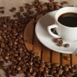 Hot coffee — Stockfoto