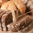 Assortment of bread — Foto Stock