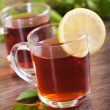 Cup of fresh tea — Stock Photo