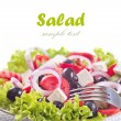 Fresh greek salad. — Stock Photo