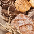 Different types of bread — Stock Photo #14436565