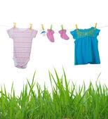 Dětské oblečení — Stock fotografie