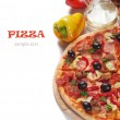 Stock Photo: Italipizza