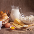 Foto Stock: Dairy produce