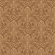 Stock Vector: Brown seamless pattern
