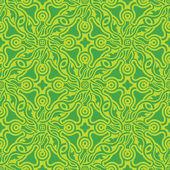 Groene naadloze patroon — Stockvector