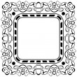 Stock Vector: Black frame